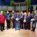 Züchter und Ehrengäste bei der Eröffnung 2017